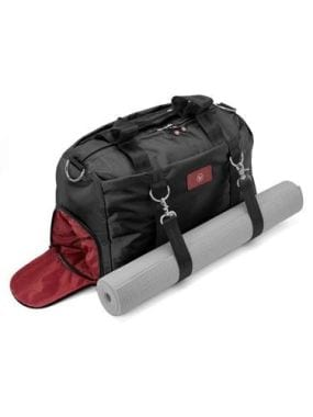 Women's Gym Bag with Shoe Compartment