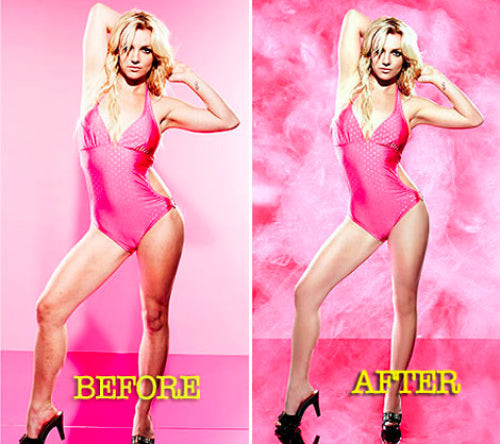 Britney Spears No Airbrush