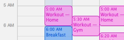 morning-workout-schedule