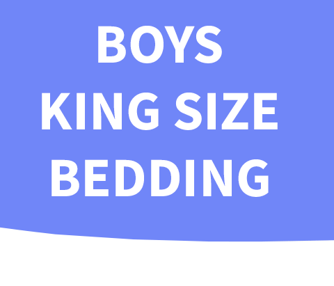 Boys King Size Bedding