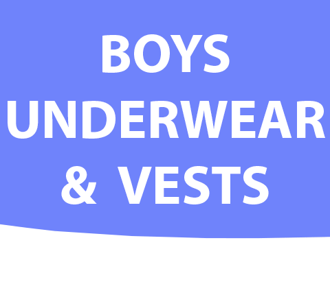 Boys Underwear and Vests