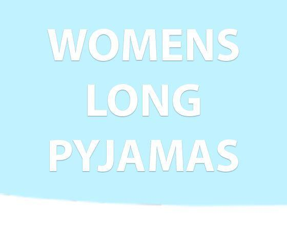 Womens Long Pyjamas
