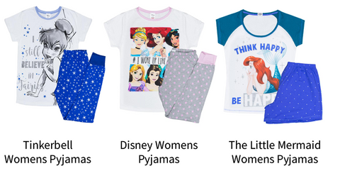 Disney Womens Pyjamas