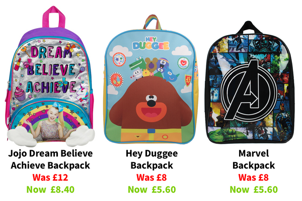 Backpacks Discount