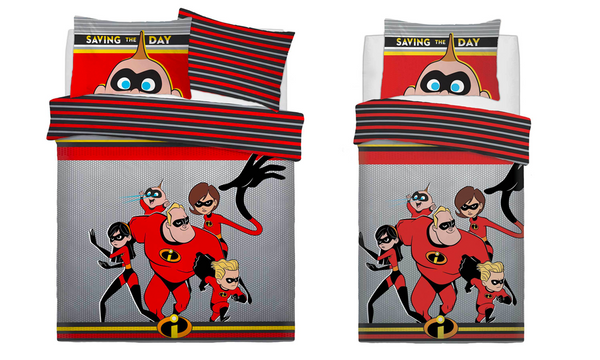 Incredibles Bedding