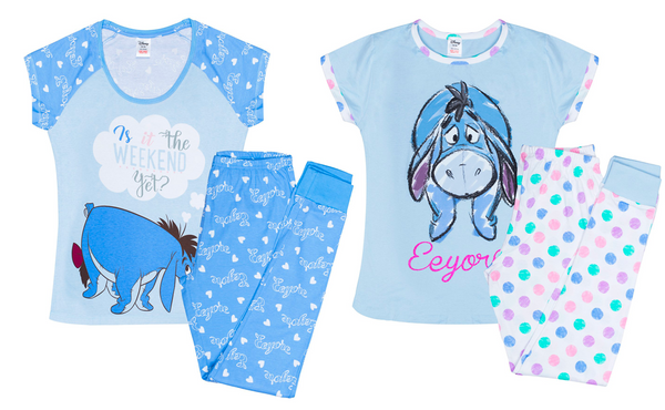 Ladies Eeyore Pyjamas
