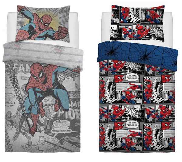 Spiderman Bedding