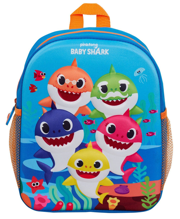 3D Baby Shark Backpack