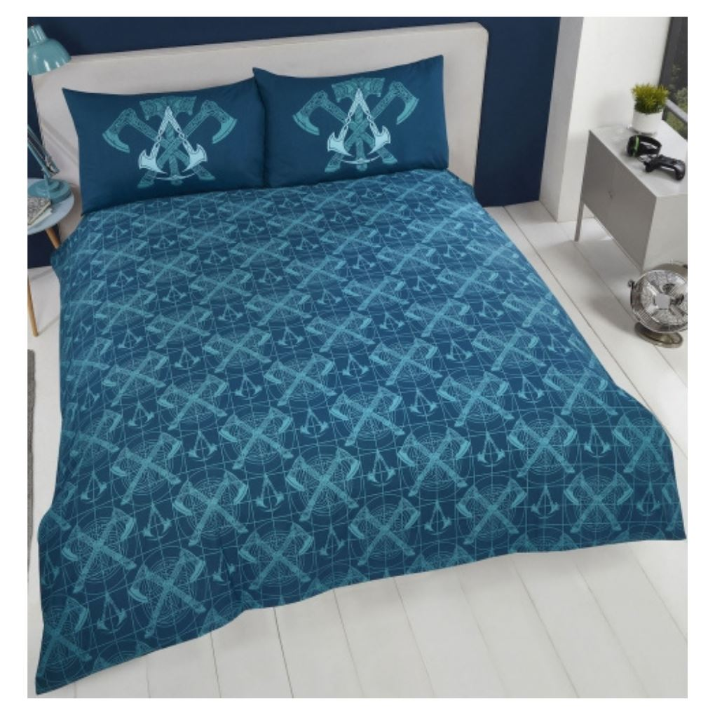 Assassins Creed Valhalla Bedding - Double Bedding Assassin's Creed