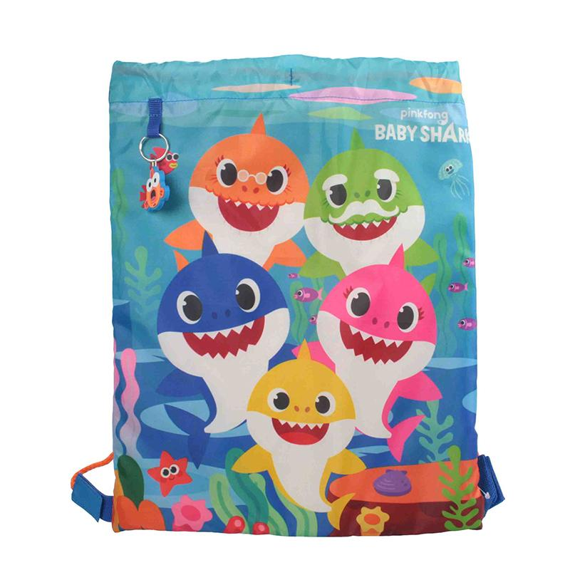 Baby Shark Drawstring Bag Backpack Cool Clobber Limited