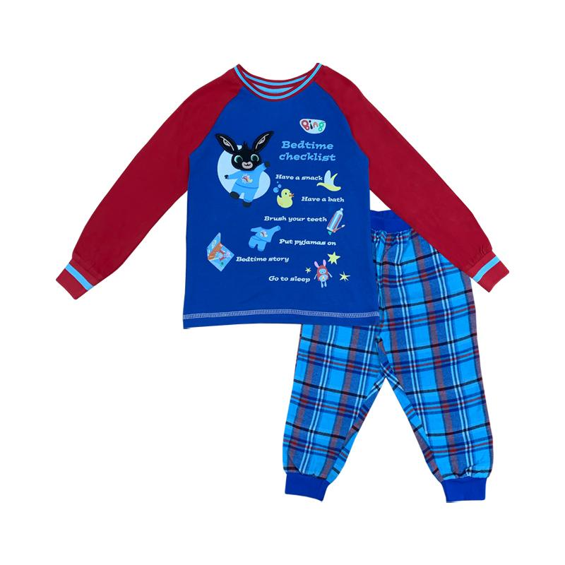 Bing Bunny Pyjamas | Checked Boys Pyjamas Cool Clobber Limited