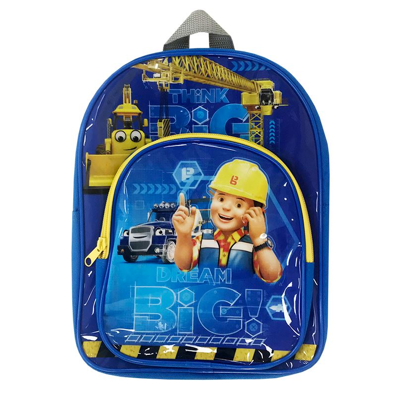 Bob The Builder Backpack Back Pack Cool Clobber Limited