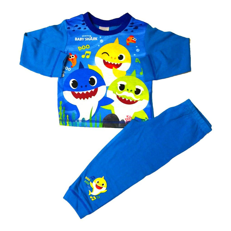 Boys Baby Shark Pyjamas