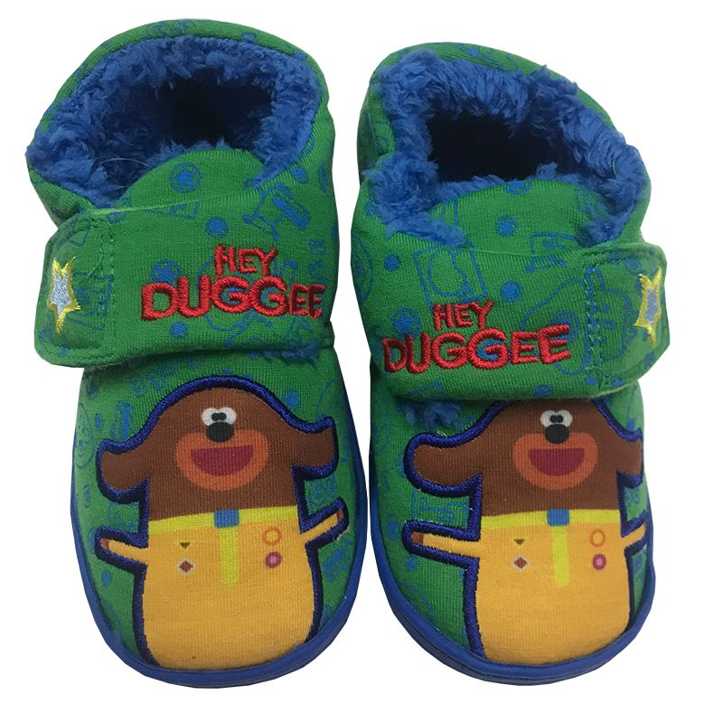 Boys Hey Duggee Slippers Accessories Cool Clobber Limited