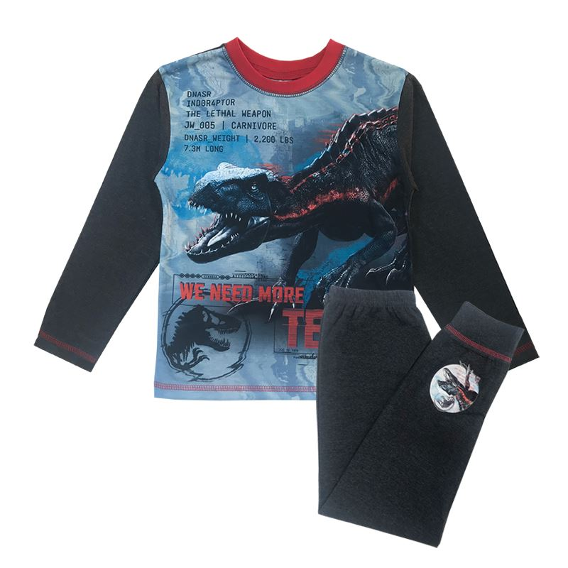 Boys Jurassic World Pyjamas Boys Pyjamas Cool Clobber Limited