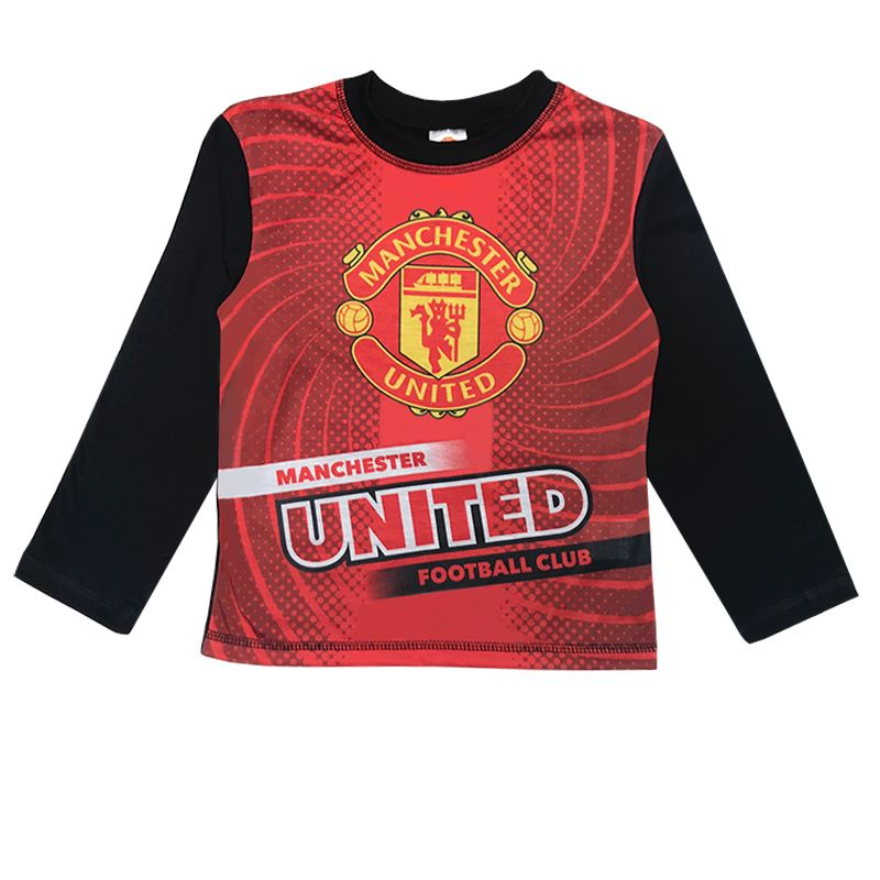 Boys Manchester United Pyjamas Boys Pyjamas Cool Clobber Limited