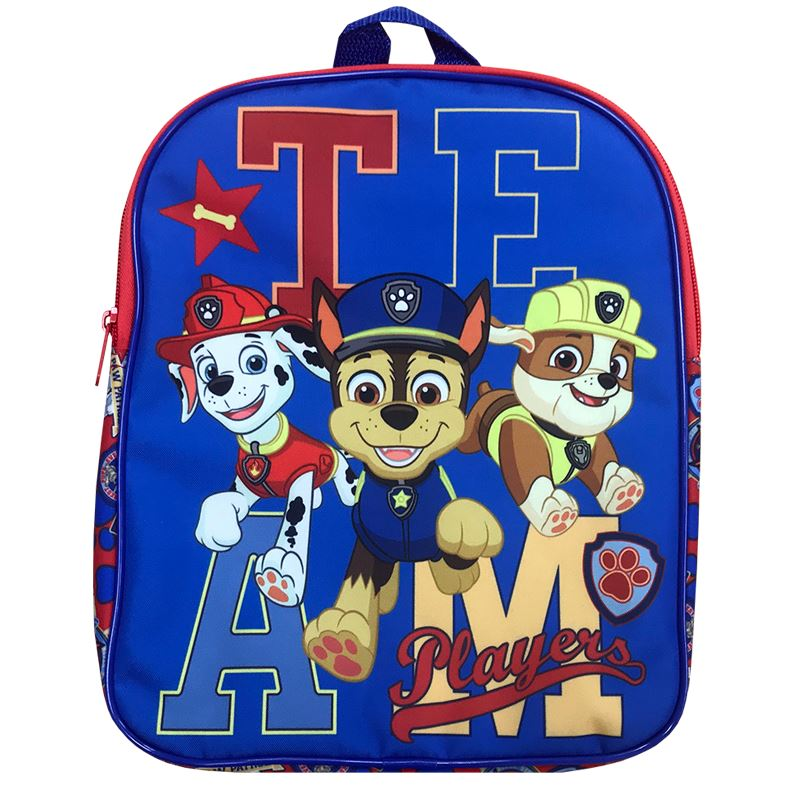 Boys Paw Patrol Backpack Backpack Cool Clobber Limited