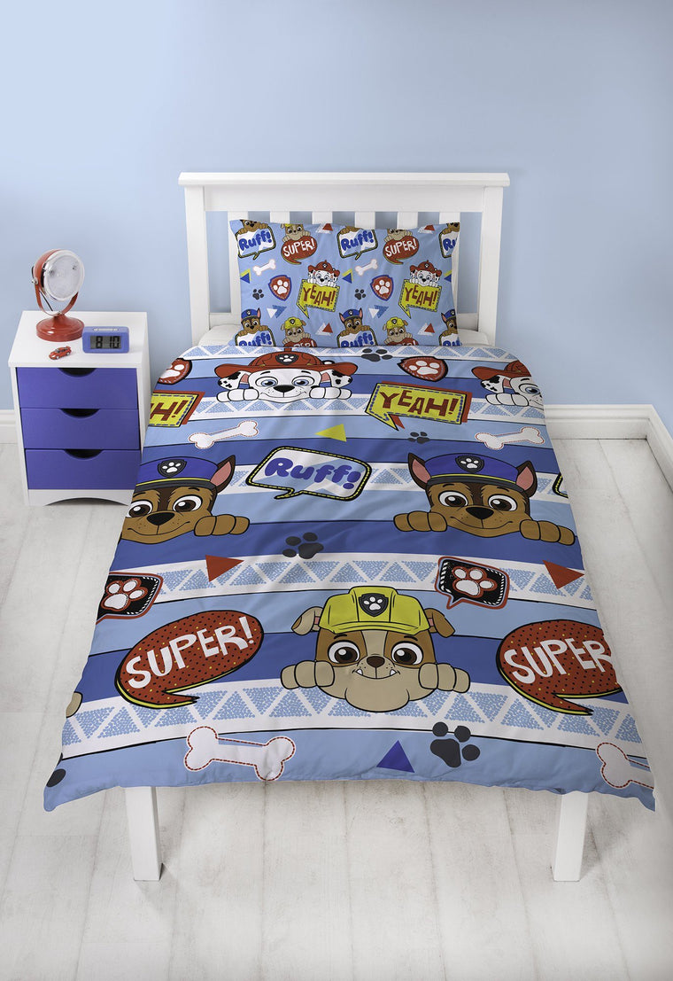 Boys Paw Patrol Bedding