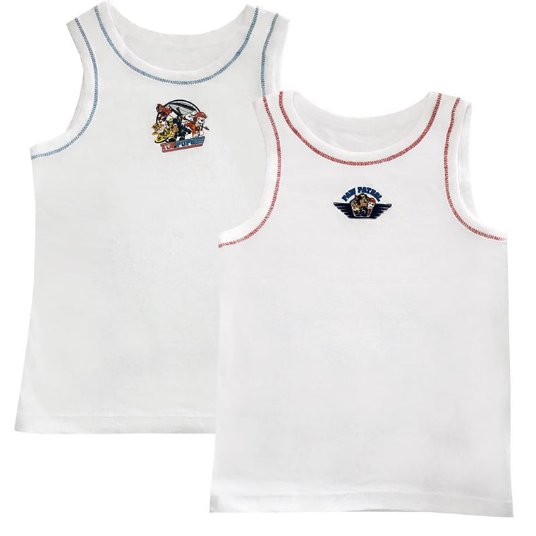 Boys Paw Patrol Vests - Pack of 2