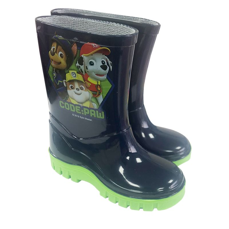 Boys Paw Patrol Wellies - Cool Clobber Limited