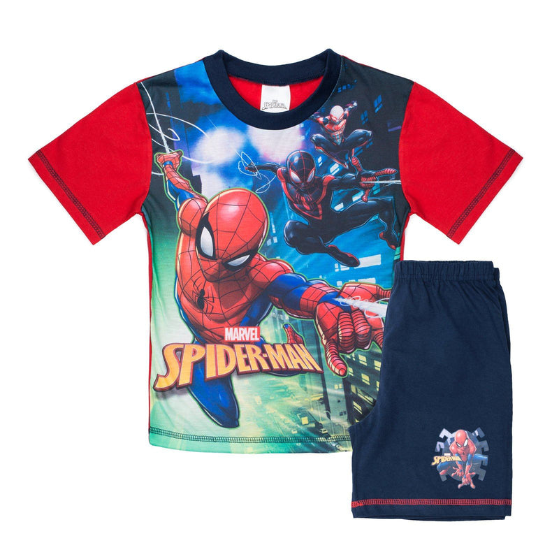 Boys Spiderman Pyjamas Cool Clobber Limited