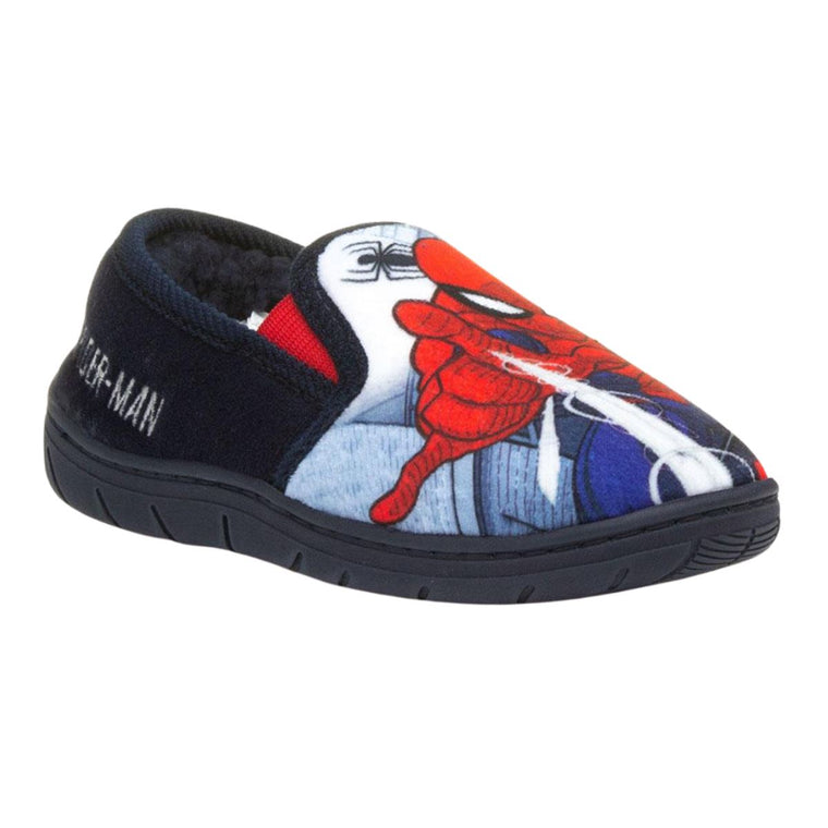 Boys Spiderman Slippers