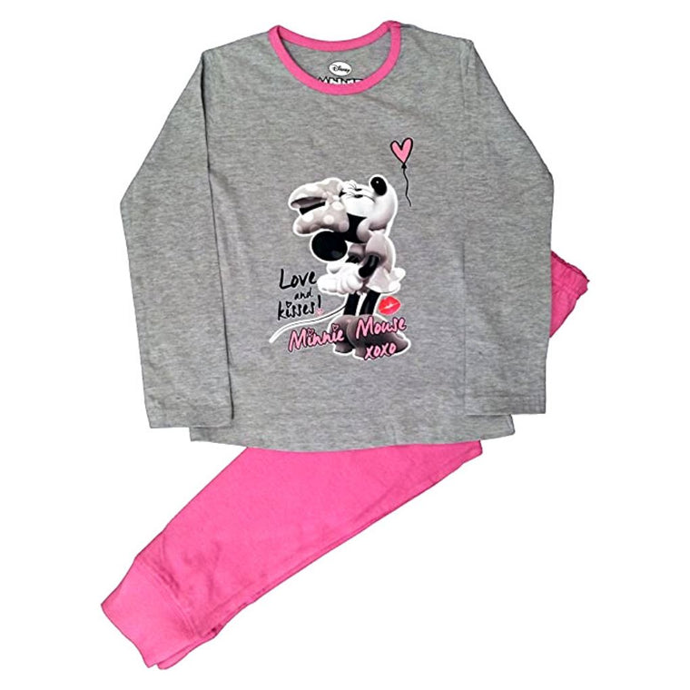 Disney Minnie Mouse Girls Pyjamas