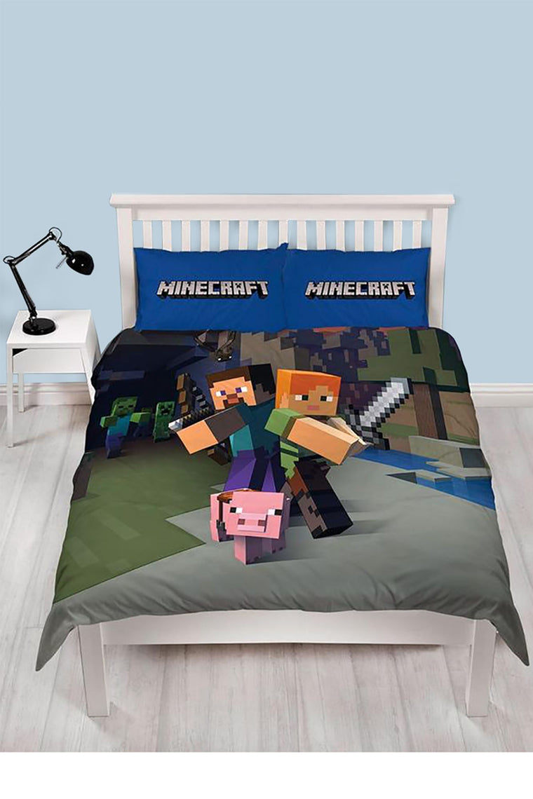 Double Minecraft Bedding