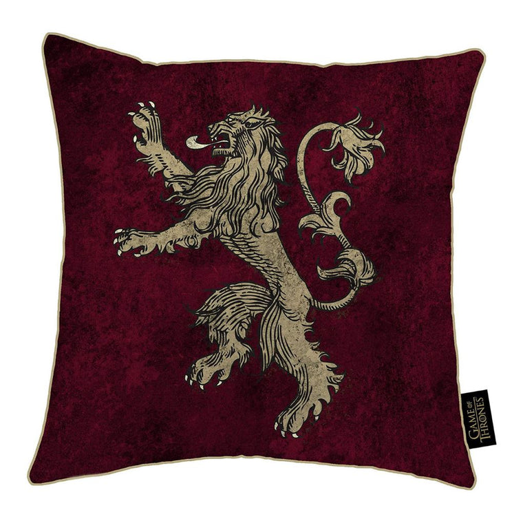Game of Thrones Cushion | House Lannister