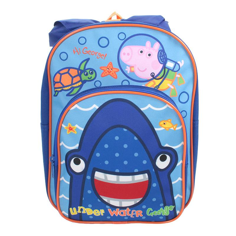 George Pig Backpack | Hooded Backpack Cool Clobber Limited