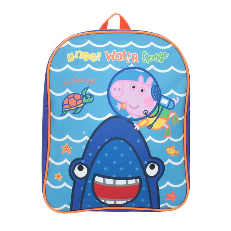 George Pig Backpack | Underwater