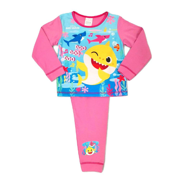 Girls Baby Shark Pyjamas