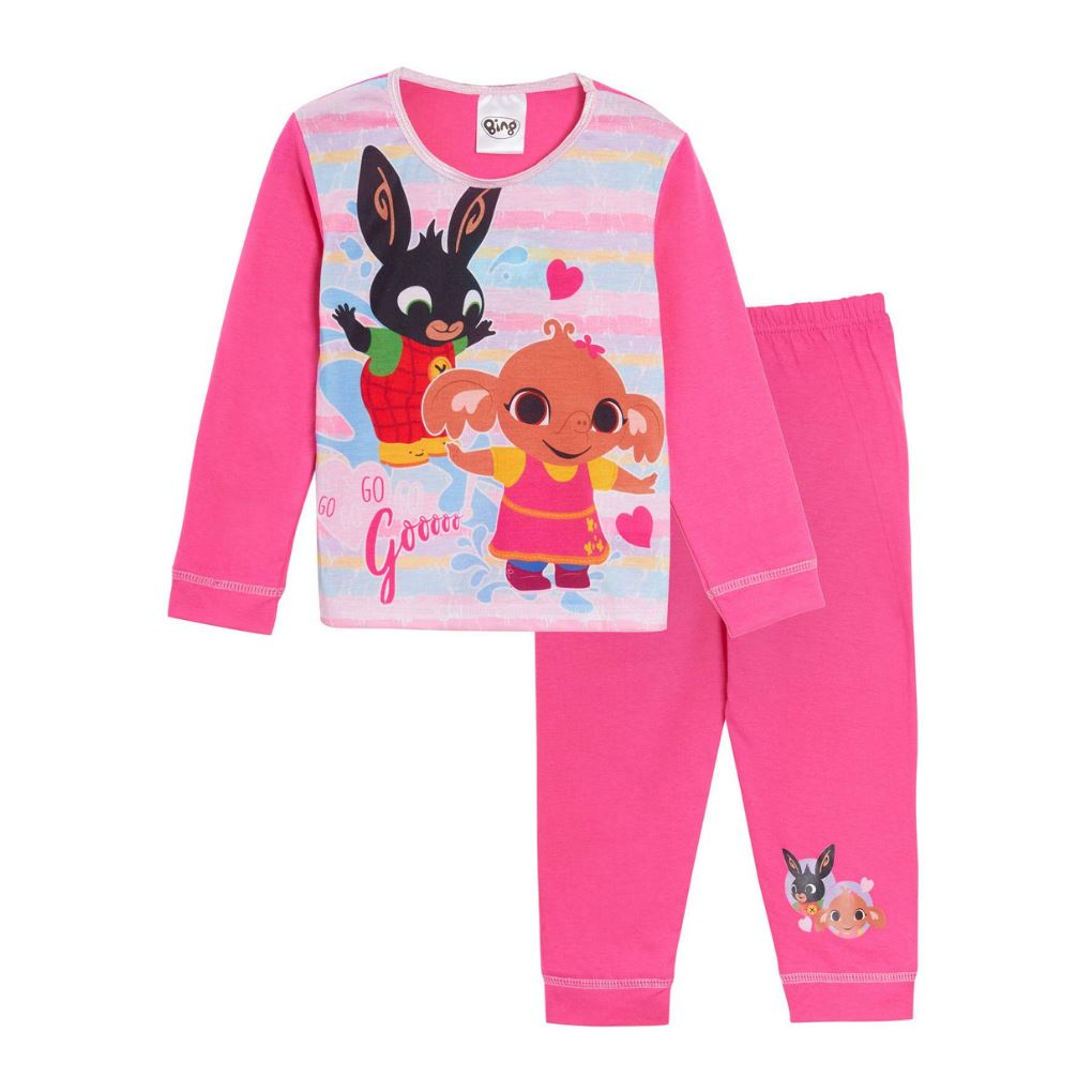 Girls Bing Bunny Cbeebies Pyjamas Girls Pyjamas Bing