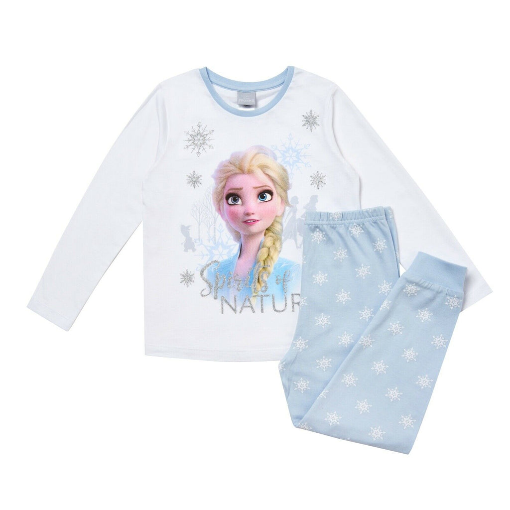 Girls Frozen Pyjamas - Elsa