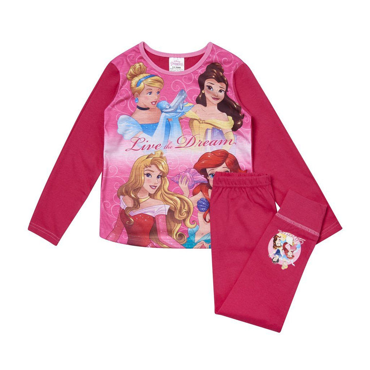 Girls Disney Princess Pyjamas