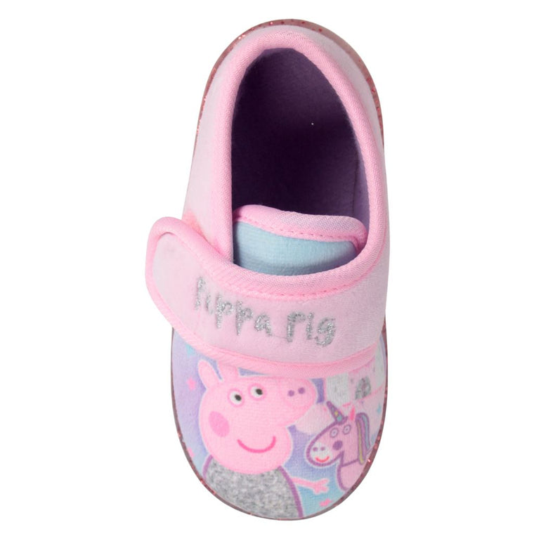 Girls Peppa Pig Slippers