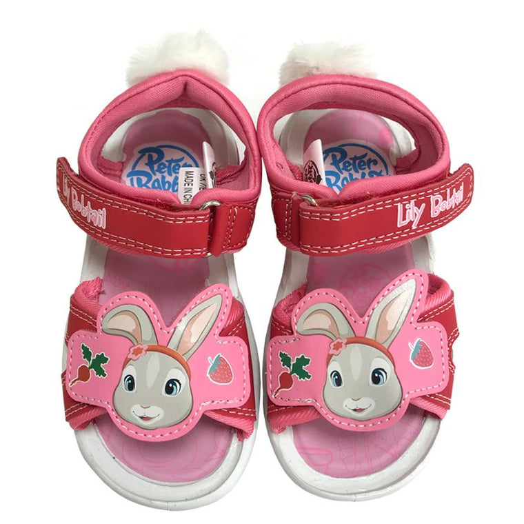 Girls Peter Rabbit Sandals