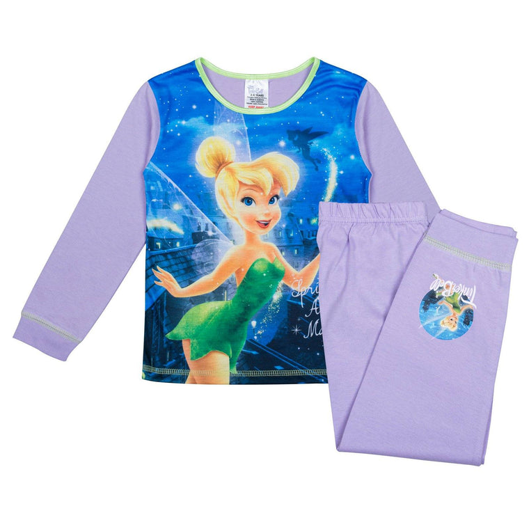 Girls Tinkerbell Pyjamas