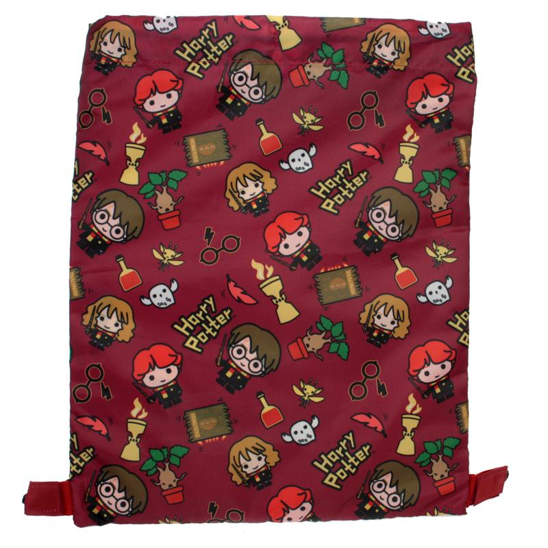 Harry Potter Drawstring Bag | Chibi Backpack Cool Clobber Limited