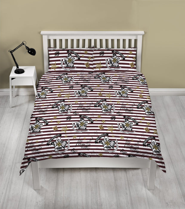 Harry Potter Double Bedding | Striped - Cool Clobber Limited