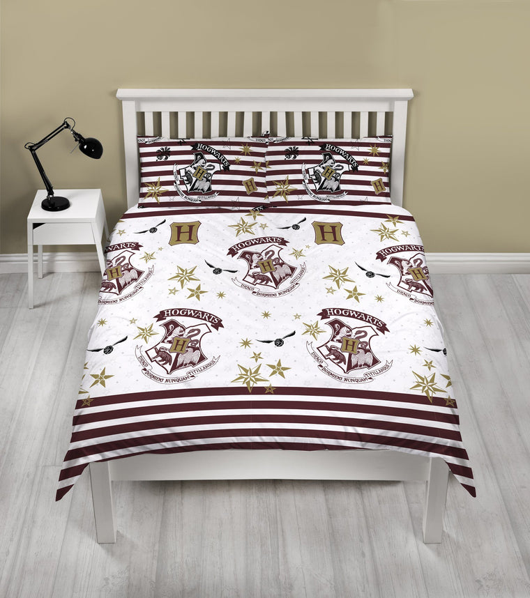 Harry Potter Double Bedding | Striped