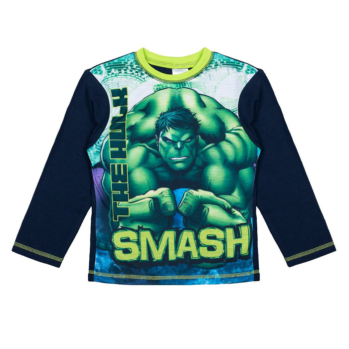 Boys Marvel Pyjamas - Hulk Smash - Cool Clobber Limited