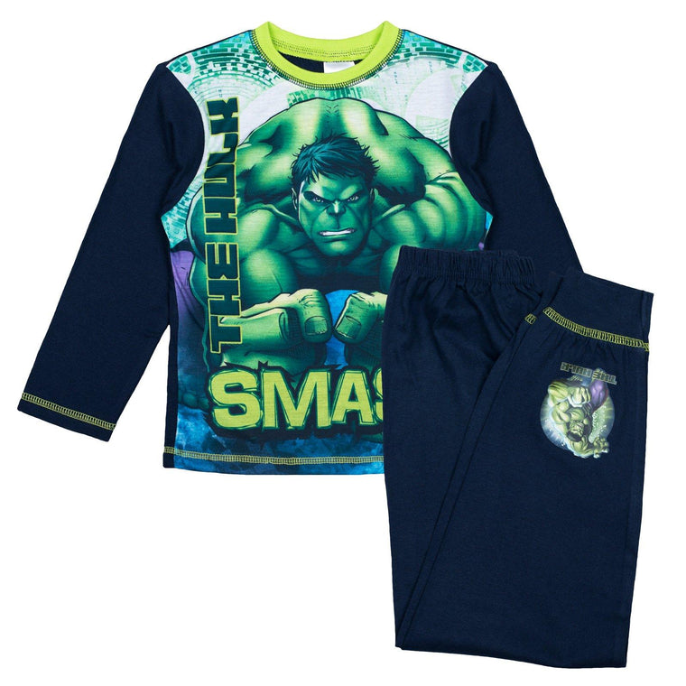 Boys Marvel Pyjamas - Hulk Smash