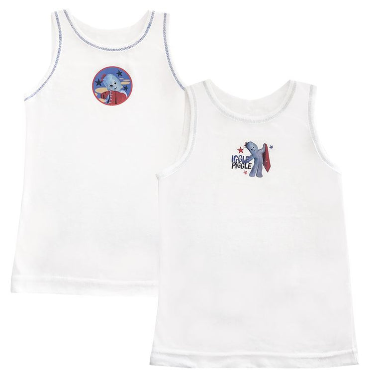 In The Night Garden Vests - Pack of 2