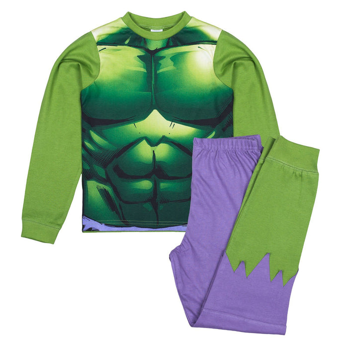 Incredible Hulk Pyjamas Boys Pyjamas Marvel