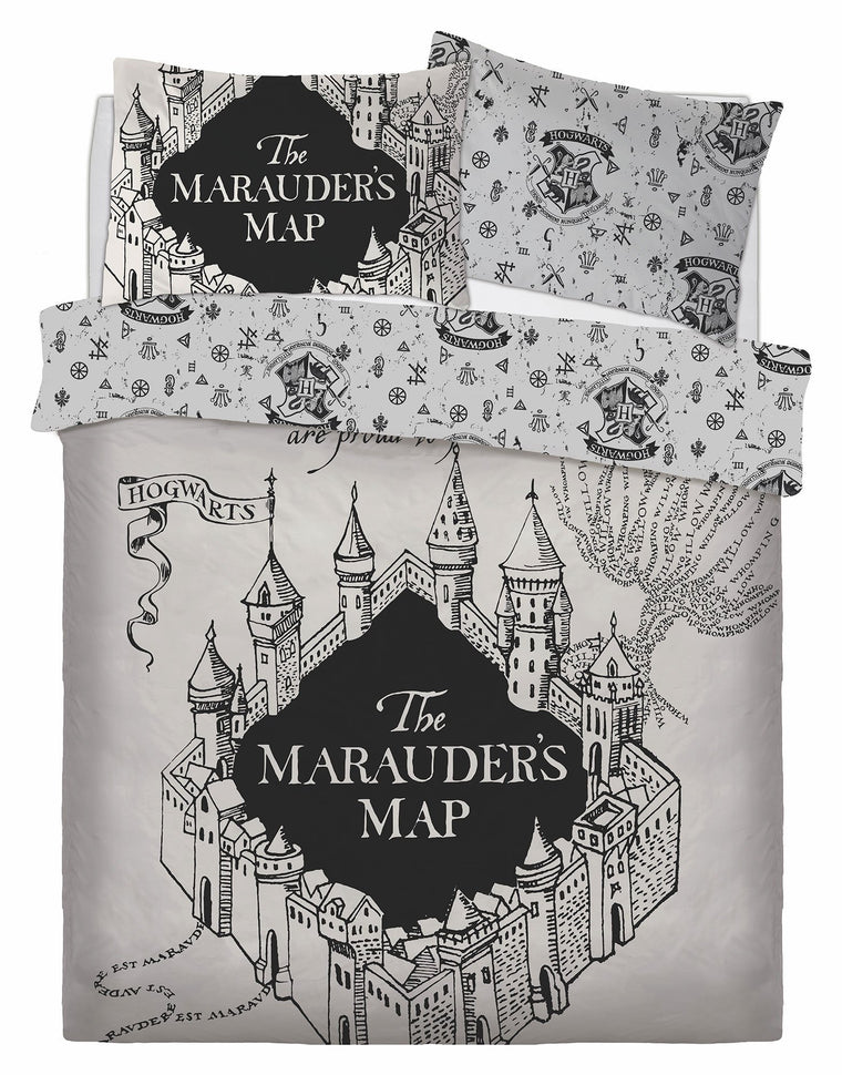 Harry Potter King Size Bedding | Marauders