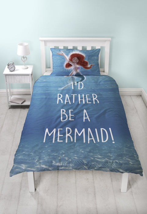 Little Mermaid Duvet Set Bedding Cool Clobber Limited