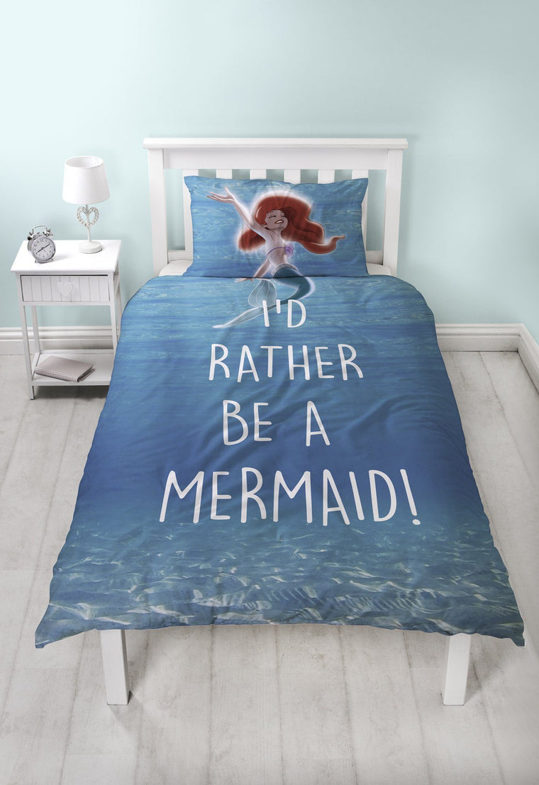 Little Mermaid Duvet Set