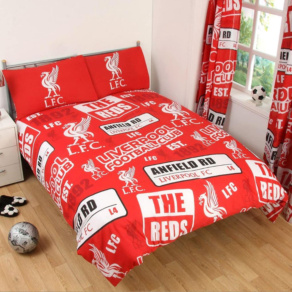 Liverpool FC Bedding - Double Bedding Liverpool FC