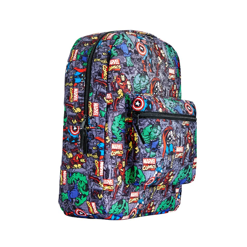 Marvel Avengers Backpack | Comic Backpack Cool Clobber Limited